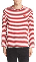 Comme des Garcons Long Sleeve Stripe Crewneck T-Shirt