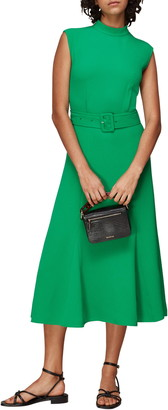 Whistles Penny Belted Midi Dress