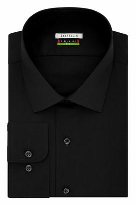 Van Heusen Men's Big and Tall Flex Fit Solid Spread Collar Dress Shirt