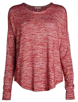 Rag & Bone Hudson Marled Long Sleeve T-Shirt