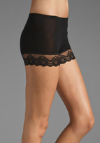 Only Hearts Club Feather Weight So Fine Lace Trim Bike Short