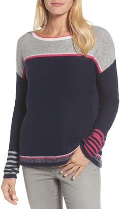 Caslon Button Back Sweater
