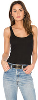 LAmade Double U Tank in Black. - size L (also in M,S,XS)