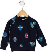 Stella McCartney Boys' Robot Print Long Sleeve Sweatshirt