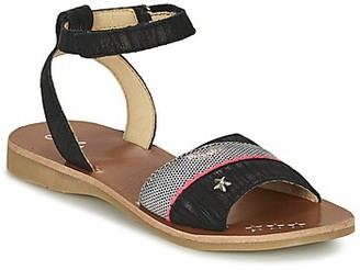 Ikks SHARON girls's Sandals in Black