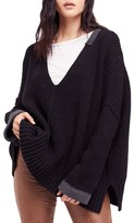 Free People Women's Take Over Me V-Neck Sweater