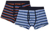 David Jones 2 Pack Stripe Trunks