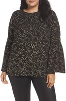 MICHAEL Michael Kors Plus Size Women's Shooting Star Bell Sleeve Top