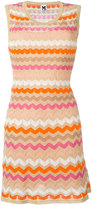M Missoni chevron stripe shift dress