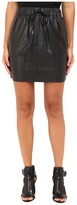 McQ Drawstring Mini Skirt