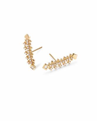 Kendra Scott Indie Earrings in White Diamond