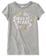 Crazy 8 Wild at Heart Tee
