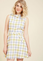 Retro Reality A-Line Dress in S