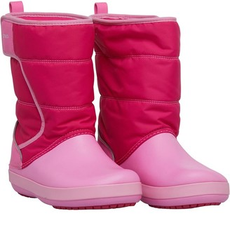 Crocs Girls Lodgepoint Snow Boots Candy Pink/Party Pink