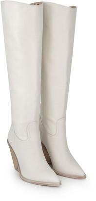 Indigo Knee High Boot