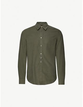 Paul Smith Mini Corduroy cotton slim-fit shirt