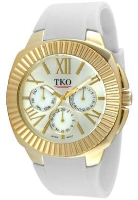 TKO Orlogi Women's TKO® Multiple Function Rubber Strap Watch