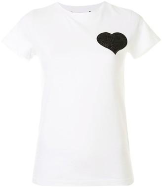Paule Ka heart detail T-shirt