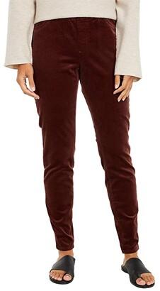 Eileen Fisher Corduroy Jegging (Dark Brown Stone) Women's Casual Pants