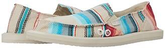 Sanuk Donna Blanket (White Blanket) Women's Slip on Shoes