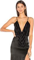 House Of Harlow x REVOLVE Lauren Bodysuit in Black