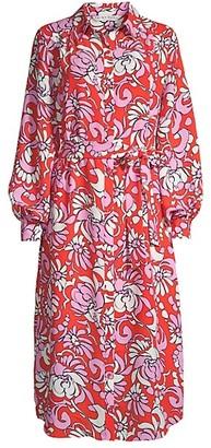 Trina Turk Sunkissed Printed Shirtdress