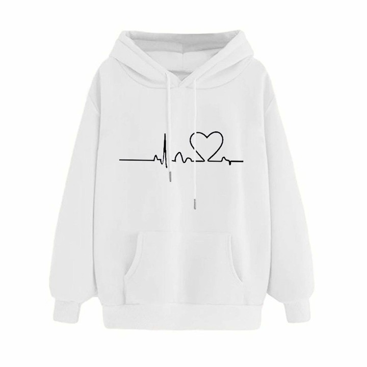 CHAOEN Oversized Hoodie for Teen Girls Jumpers Women Sweatshirts Womens Plus Size Long Sleeve Top Hooded Pullover Casual