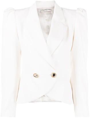 Alessandra Rich Puff Sleeve Blazer