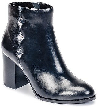 Mellow Yellow CEANOTHE women's Low Ankle Boots in Black