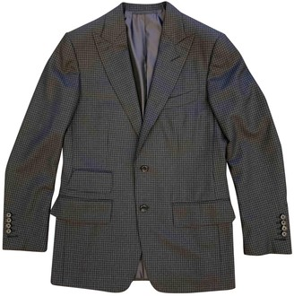 Tom Ford Anthracite Wool Suits