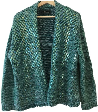 Nice Connection Green Cashmere Knitwear for Women
