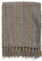 Nordstrom Ticking Weave Throw Blanket