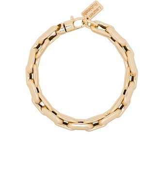 LAUREN RUBINSKI 14kt Yellow Gold Chain Bracelet