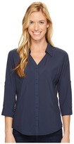 Royal Robbins Expedition Chill Stretch 3/4 Sleeve Top Women's Long Sleeve Button Up