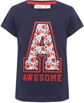M&Co A for awesome glitter t-shirt