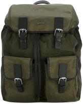 Moncler buckle detail backpack - men - Nylon/Polyester - One Size