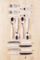 Urban Outfitters 12-Piece Marble Swirl Flatware Set