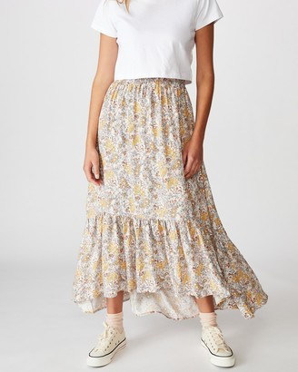 Cotton On Gypsy Tiered Maxi Skirt