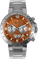 Jacques Lemans Men's Powerchrono 09 Chronograph 1-1485H Stainless Steel