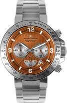 Jacques Lemans Men's Powerchrono 09 Chronograph 1-1485H Stainless Steel