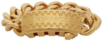 Versace Gold Cuban Link Bracelet