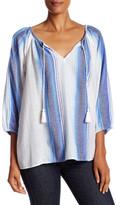 Soft Joie Legaspi Split Neck Tunic Blouse