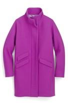 J.Crew Petite Women's Stadium Cloth Cocoon Coat