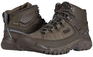 Keen Targhee Exp Mid WP (Raven/Inca Gold) Men's Shoes
