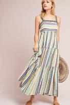 Anthropologie Tianna Tiered Maxi Dress
