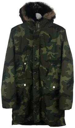 Amiri Green Fur Jackets
