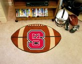 "Fanmats North Carolina State Wolfpack 22""x35"" Football Floor Mat (Rug)"