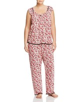 Oscar de la Renta Plus Knit Pajama Set