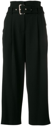 MICHAEL Michael Kors Belted Wide-Leg Trousers