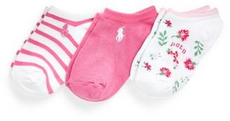 Ralph Lauren Ankle Sock 3-Pack